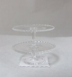 Cake Stand Two Tier