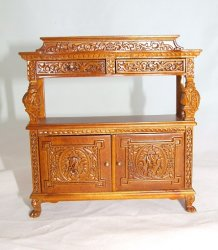 19th C French Renaissance Buffet, NWN
