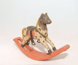 Rocking Horse, Hanpainted