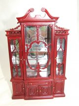 Regency China Cabinet/Bookcase, MH