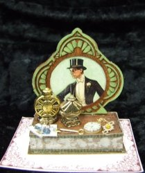 Victorian Man Fancy Display Box