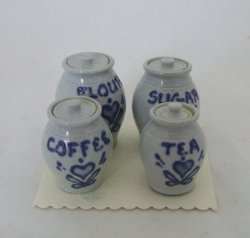 Cannister Set Pottery