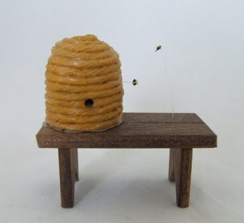 Beehive on Bench