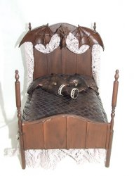 Dragon Brown Bed