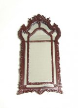Ornate Mirror, Mahogany