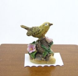 Gold Finch Figurine