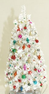 Christmas Tree, White