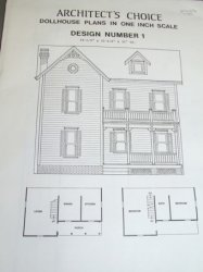 Architect's Choice Dollhouse Plan #1