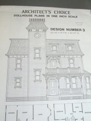 Architect's Choice Dollhouse Plan #3