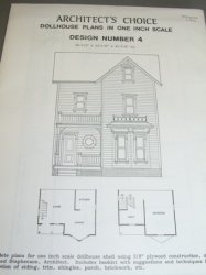 Architect's Choice Dollhouse Plan #4