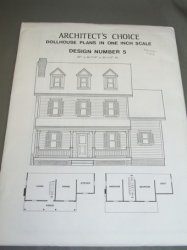 Architect's Choice Dollhouse Plan #5