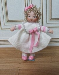 Baby Addison Doll in Pink