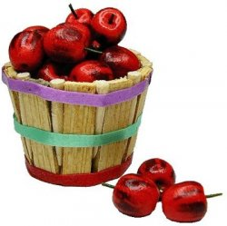 Bushel Basket of Apples