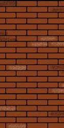 Brick Panel PVC: Red/White on Black