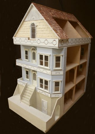 Buckhead Townhouse Dollhouse Shell Kit