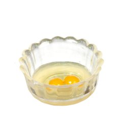 Bowl of Raw Eggs, 2pcs