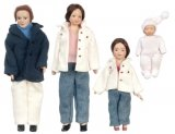 Porcelain Doll Family, 4