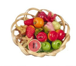 Assorted Fruit & Vegetable Basket