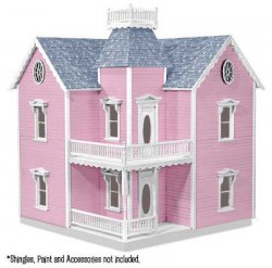 Holly Ann Dollhouse Assembled