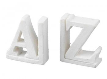 A - Z Bookends