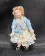 Toddler Girl Porcelain, Blue