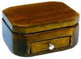 Small Keepsake Box, Mahogany