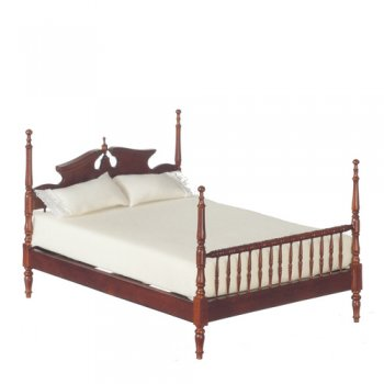 Early American Bed, Walnut