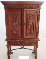 Spanish Sacristy Cupboard, 15thC