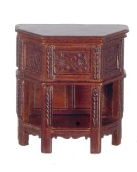 16th C Tudor Side Table, Walnut