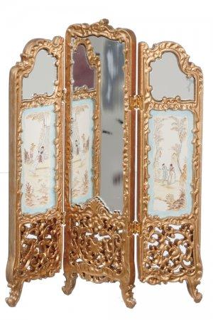 Mirrored Room DividerScreen Gold JBM6031G 9999 Miniature