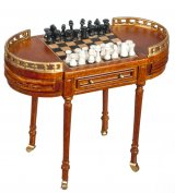 Chess Table on Wheels, WN
