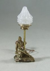 Seated Liberty Lamp