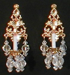 Lady Pamela Sconces, Pair