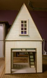 "1"" Dollhouse Garage"