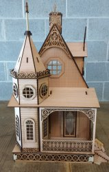 "1"" Jasmine Gothic Victorian Cottage, Small Kit"