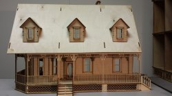 "1/2"" Alisha Country Dollhouse"