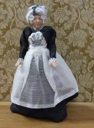 "1/2"" Scale Older Maid"