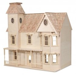 Lady Ashley Assembled Dollhouse