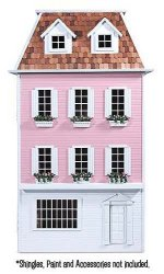 Mansard Dollhouse Kit