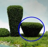 Tree Round Bush, 2pc