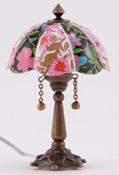 Floral Tiffany Table Lamp