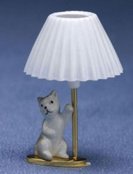 Child's Lamp, Kitty