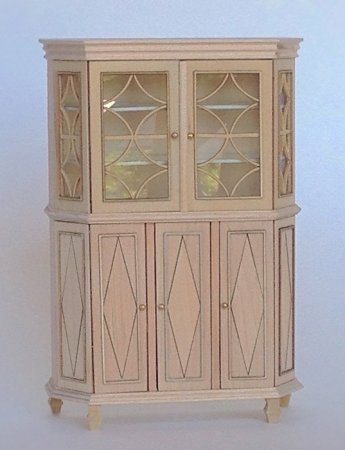 Chere Gustavian Cabinet, Unfinished