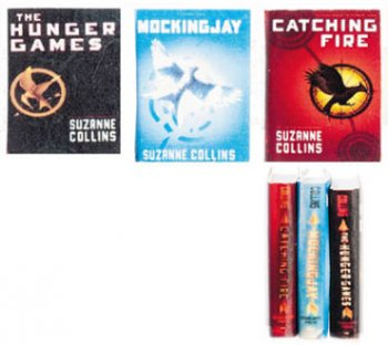 Books, Collins, Hunger Games, 3pc