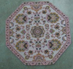 Octagon Rug, Assorted Colors