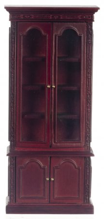 Resolute Bookcase, Mahogany