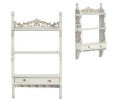Barrington Wall Cabinet, White