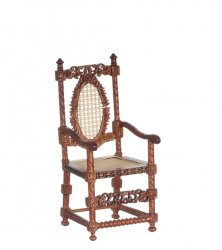 1600 Dutch Armchair, Walnut