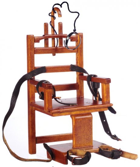 """Old Sparky"" Electric Chair - Click Image to Close"