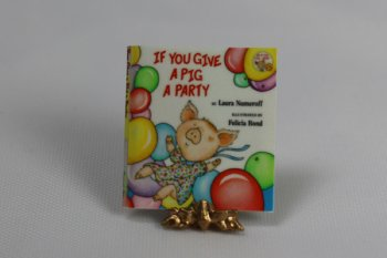 If You Give A Pig A Party Book